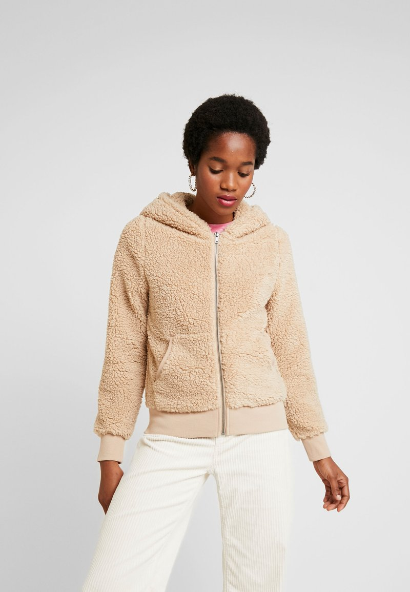 ONLY - ONYCAROLINE - Fleece jacket - beige
