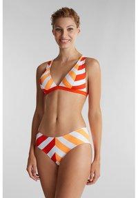 Esprit - Bikini bottoms - coral orange - 1
