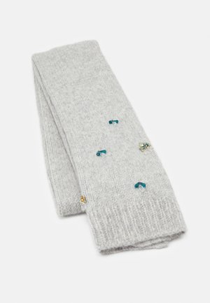 SCARF JEWEL DETAILS - Scarf - light grey