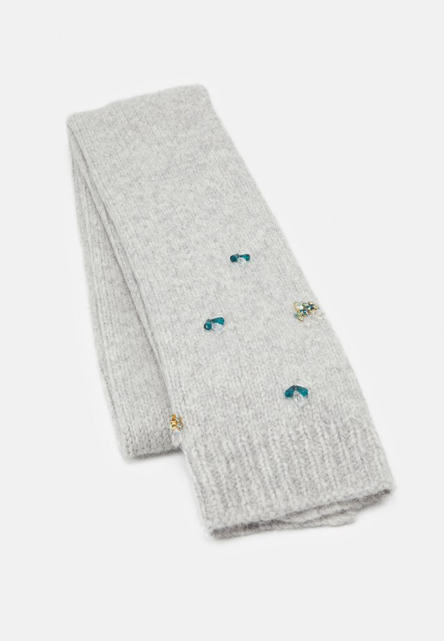 SCARF JEWEL DETAILS - Huivi - light grey