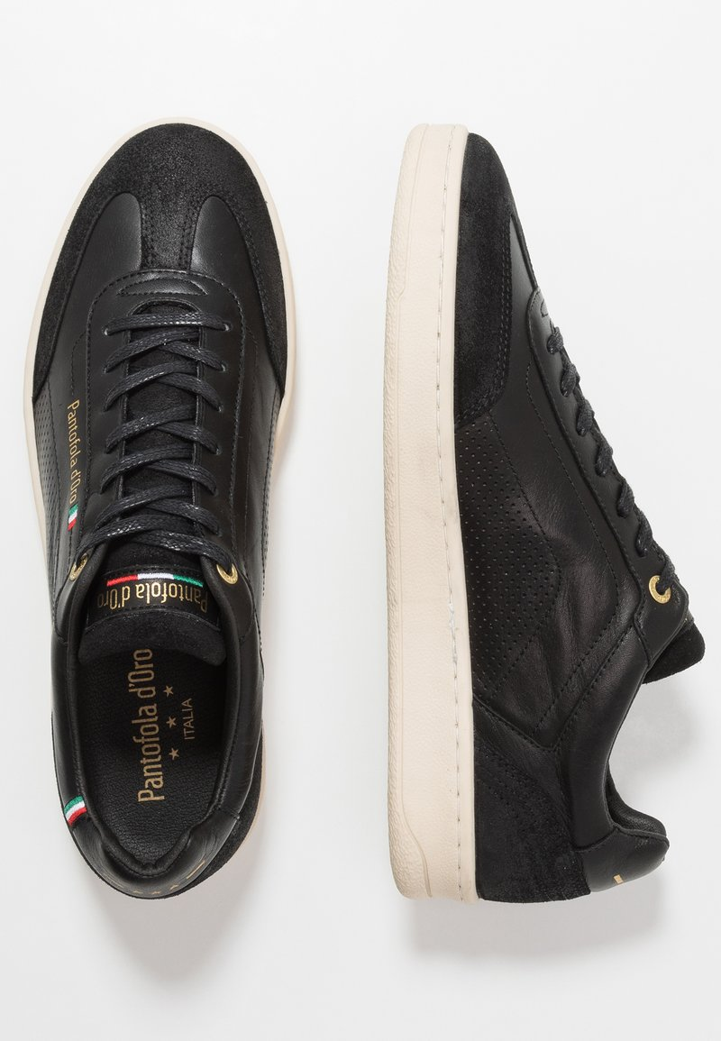 Pantofola d'Oro - MESSINA UOMO - Baskets basses - black