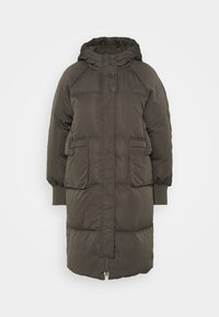 YAS - YASSOLEA JACKET - Down coat - black olive