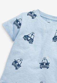 Next - 3 PACK  - Print T-shirt - off-white - 2