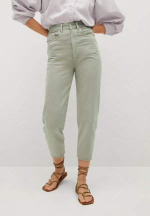 Relaxed fit jeans - mint green