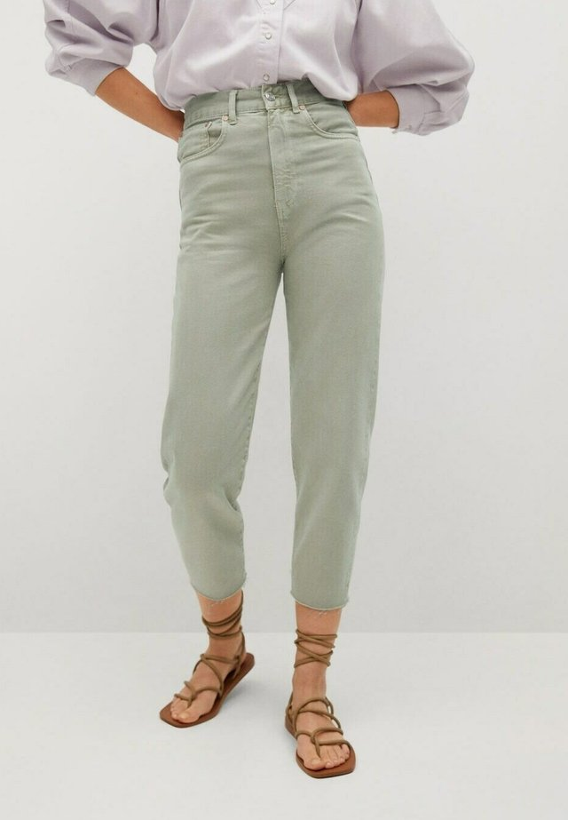 Jeans baggy - mint green