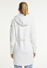 Schmuddelwedda - Zip-up sweatshirt - wollweiss melange - 2