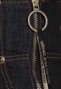 Versace Jeans Couture - LADY SKIRT - Denim skirt - indigo - 4