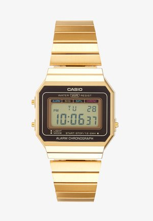 Reloj digital - gold-coloured