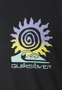 Quiksilver - ISLAND PULSE - T-shirt con stampa - black - 3