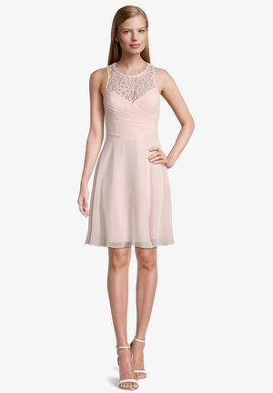Cocktail dress / Party dress - crystal pink
