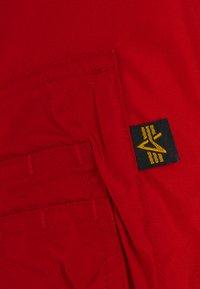 Alpha Industries - HOODED - Kevyt takki - speed red - 3