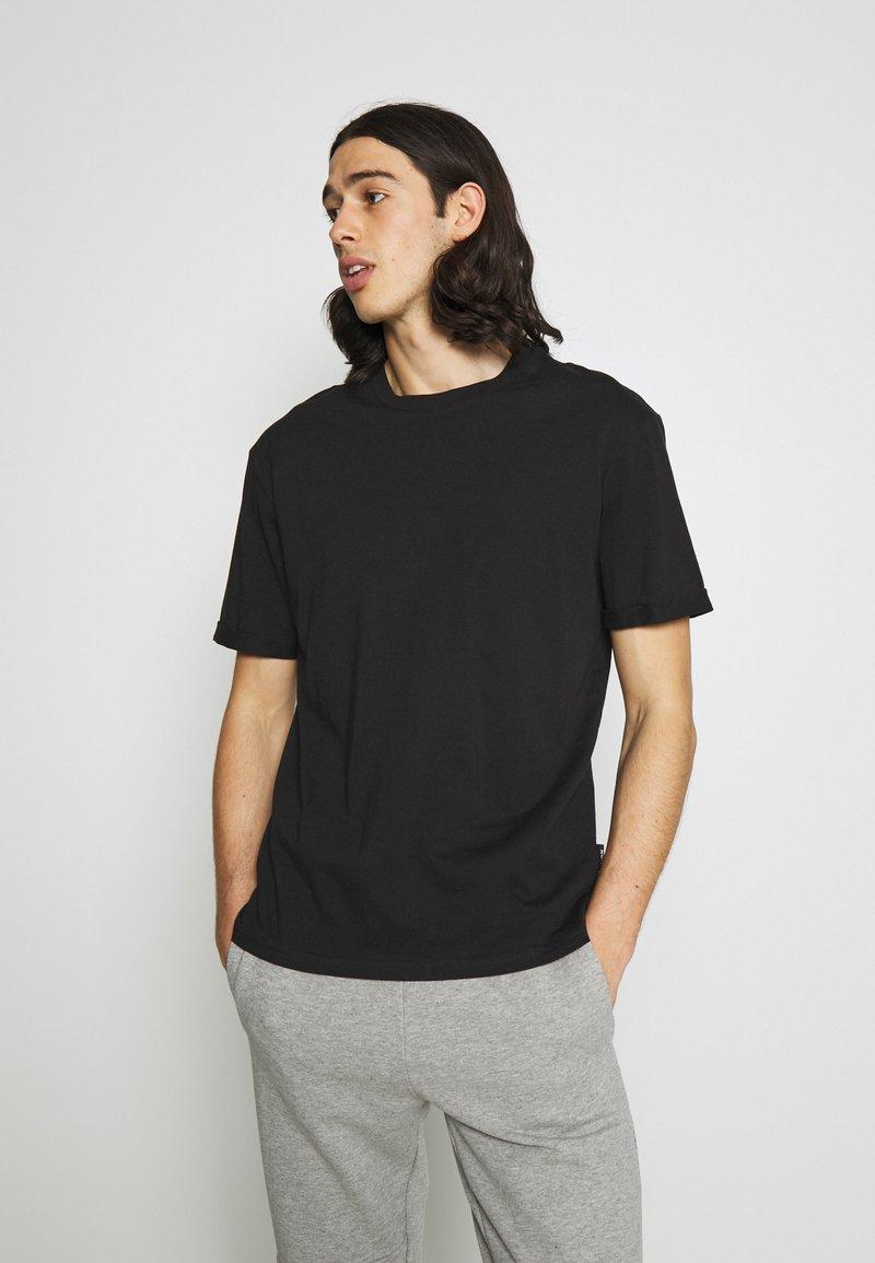 Zign - UNISEX - Jednoduché triko - black