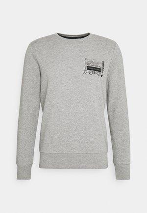 SAMWELL - Sweatshirt - light grey marl/jet black