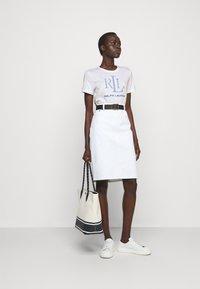 Lauren Ralph Lauren - T-shirt z nadrukiem - white - 1