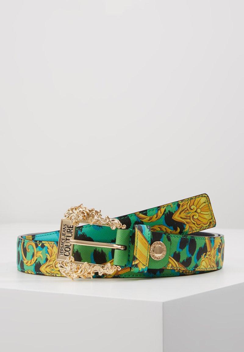Versace Jeans Couture - BAROQUE PRINT REGULAR BELT - Cintura - frog