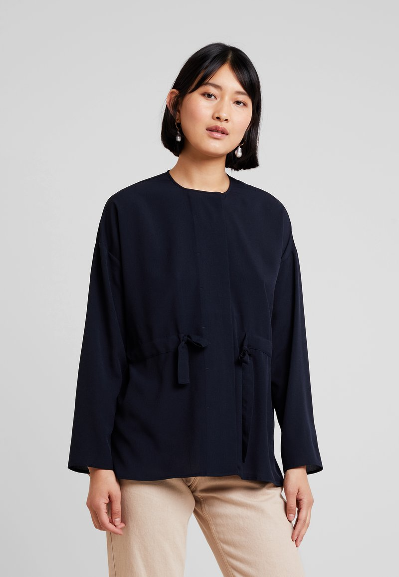 French Connection - WAIST - Blouse - utility blue