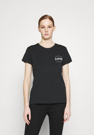 THE PERFECT TEE - Print T-shirt - caviar