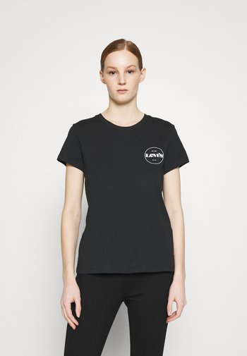 THE PERFECT TEE - T-shirt con stampa - caviar
