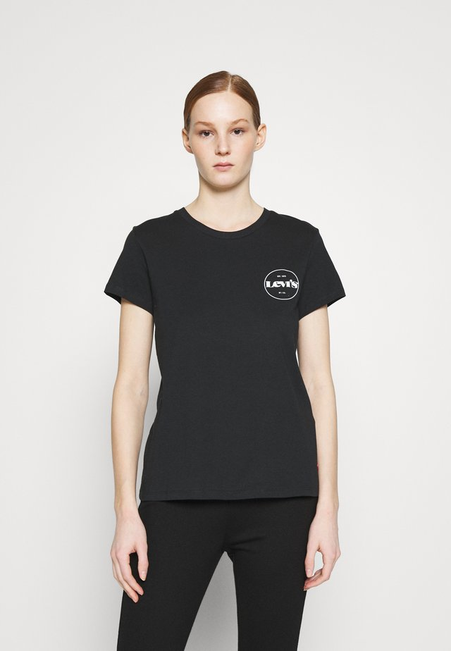 THE PERFECT TEE - Print T-shirt - caviar