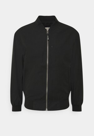 CLEAN  - Giubbotto Bomber - black