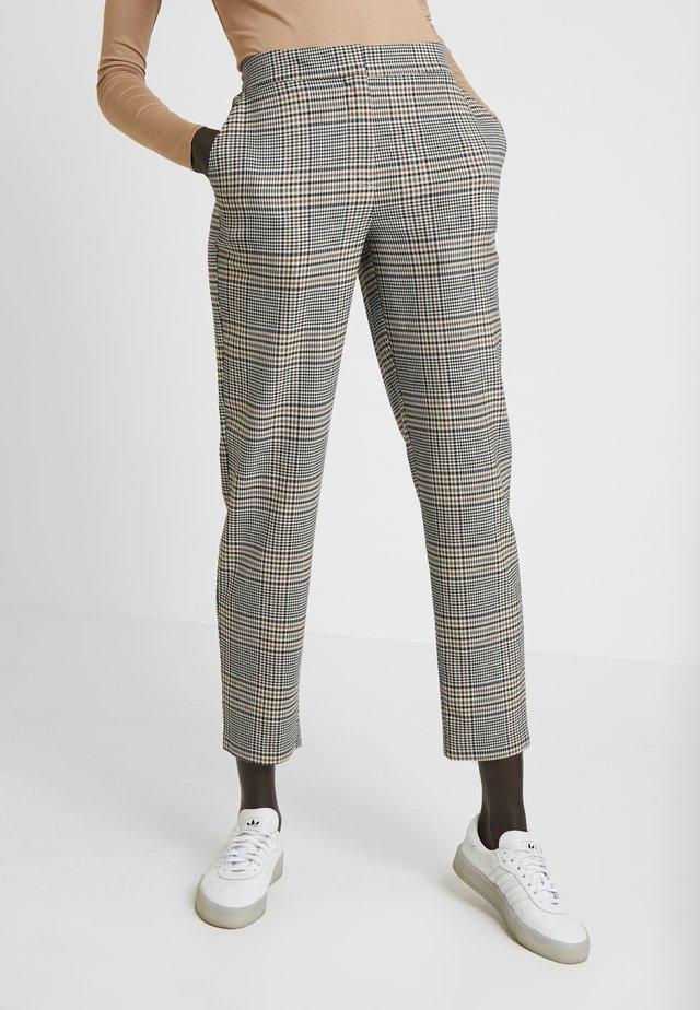 YASPELLA CROPPED PANT - Pantalon classique - star white/multi colors