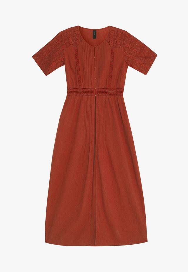 YASKAILEY THROW OVER FEST - Sukienka letnia - red ochre