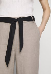 Esprit Collection - HR FLARED - Trousers - beige - 5