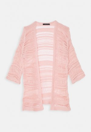 Cardigan - powder pink