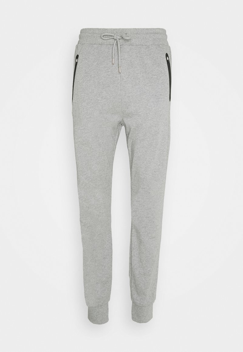 NU-IN - Tracksuit bottoms - grey marl