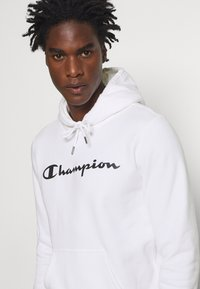 Champion - LEGACY HOODED - Hoodie - white - 4