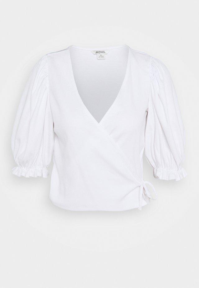 ULLA  - T-shirts print - white light