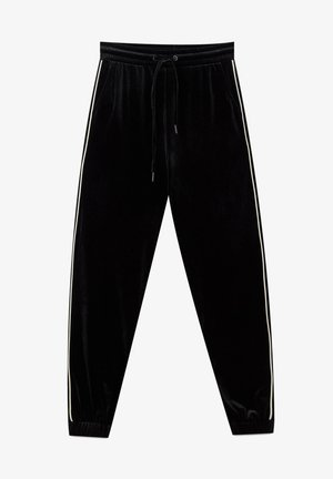 SAMT - Tracksuit bottoms - black