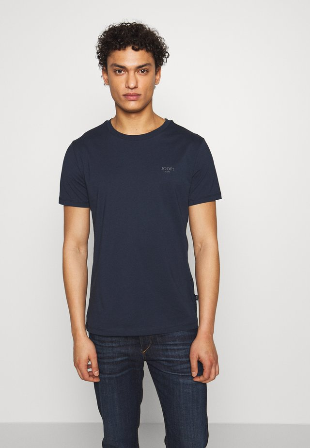 ALPHIS  - Basic T-shirt - navy