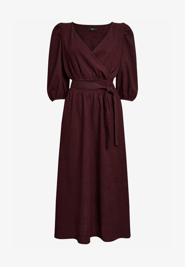 Denní šaty - dark brown