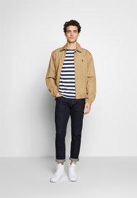 Polo Ralph Lauren - Print T-shirt - french navy/white - 1