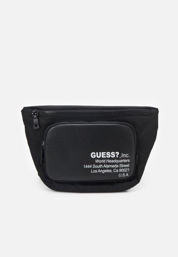 MASSA SMART FLAT BUM BAG - Bum bag - black