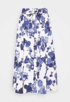 ACRONIMO - A-line skirt - blanc