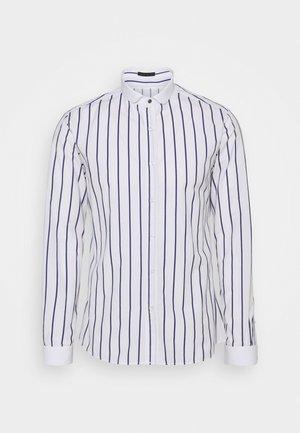 SANDFORD - Shirt - white/navy