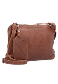 Cowboysbag - COWBOYSBAG BAG TIVERTON UMHÄNGETASCHE LEDER 24 CM - Across body bag - cognac - 2