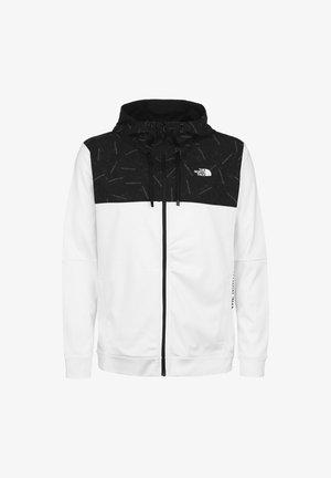 TRAIN LOGO OVERLAY JACKET - Training jacket - white