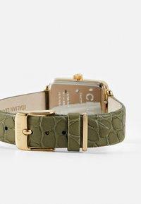 Cluse - LA TETRAGONE - Montre - gold-coloured/white/green - 1