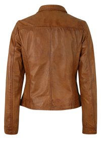 7eleven - Leather jacket - cognac - 5