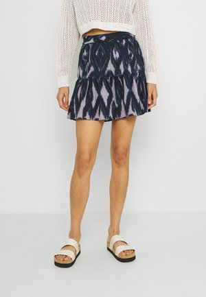 VMANNABELLE SHORT SKIRT - A-line skirt - navy blazer