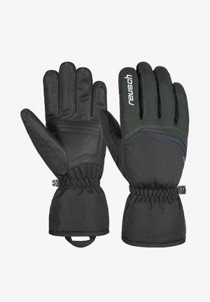 Gloves - dark granite / black