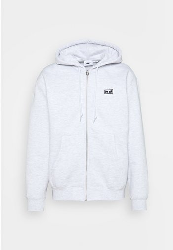 EARTH CRISIS - Zip-up hoodie - ash grey