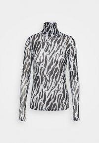 Bruuns Bazaar - THORA ASTRA ROLL NECK - Long sleeved top - black - 5
