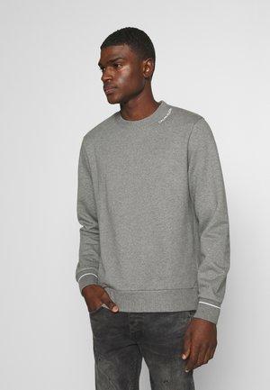 NECKLINE LOGO - Sweatshirt - grey