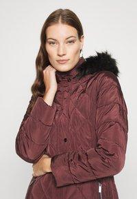 Dorothy Perkins - LONG PUFFER COAT - Winter coat - wine - 3