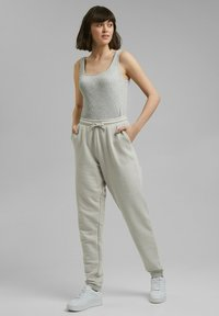 edc by Esprit - Tracksuit bottoms - light grey - 1