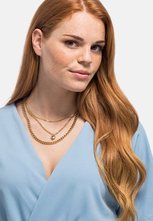 Necklace - goldfarbend